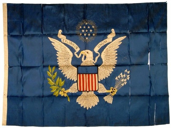 Presidential Flag Theodore Roosevelt, 1902