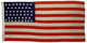 U.S. 47 Star Flag - New Mexico's Statehood.