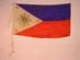 Philippines Commonwealth Flag, 1919-1941.