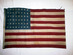U.S. 48 Star Flag - Circa 1940s.