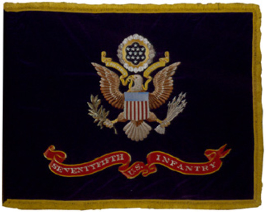 U.S. Regimental Color - 75th Infantry WWI, 1917.