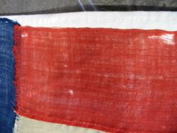 1st stripe - selvege