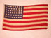 U.S. flag, 46 Stars, 8-7-8-8-7-8.