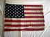 U.S. flag, 50 stars.
