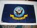 US Navy Ceremonial Flag // 1959-Present