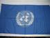 United Nations (UN) Flag.