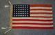 U.S. 48 Star Flag - USN Boat Flag MI Size 12.