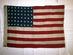 U.S. 48 Star Flag.