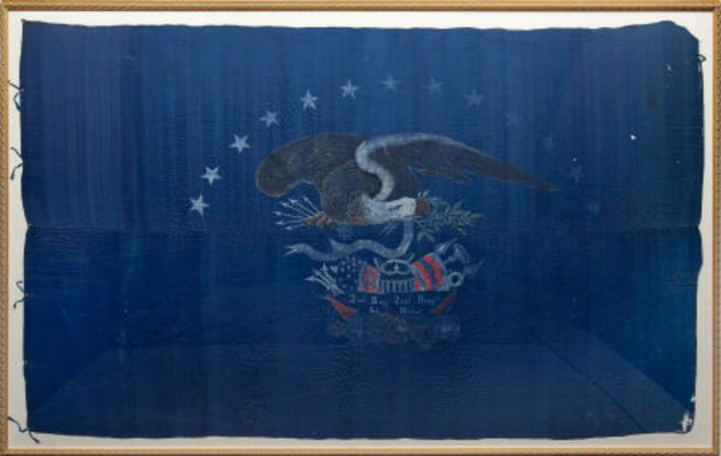 U.S. Early Militia Regimental Color