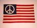 American Peace Symbol Flag