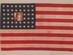 U.S. Flag, 48 stars, 8-8-8-8-8-8.