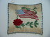 Patriotic Flag & Rose Crochet // WWI & WWII