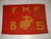 US // Fleel Marine Force Guidon / Co. B, 5th Marin
