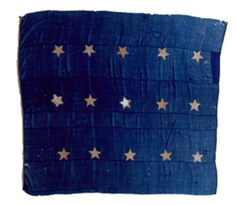 U.S. 15 Star Union Jack - Merchant ship Vineyard.