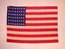 U.S. national flag, 48 stars.