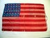 37 Star U.S. Flag, Abraham Lincoln Memorial NYC.