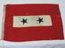 U.S. 2 Star Service Flag, WWI.