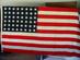 United States // 48 Star // Storm-Interment Flag