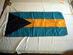 Bahamas national flag.