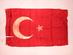 Ottoman Empire (Turkey) National Flag, 1914, WWI.