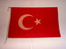 National Flag of the Republic of Turkey.