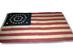 U.S. 38 Star Flag, Jabez Loane maker.