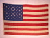 U.S. 50 star flag, de Young Museum.