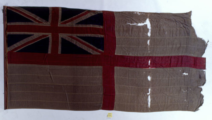 U.K. Royal Navy - D-Day White Ensign