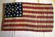 U.S. 34 Stars Flag Peale Museum.