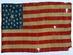 U.S. 35 Star Parade Flag.