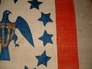 Eagle Fly wing & Stars detail