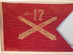 17th U.S. Field Artillery Headquarters Guidon.