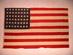 U.S. flag, 48 stars, de Young Museum Flag.