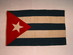 Cuban National Flag 1898.