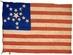 U.S. 16 Star Grand Luminary Exclusionary Flag.