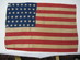 U.S. 42 Star Flag with staggered.