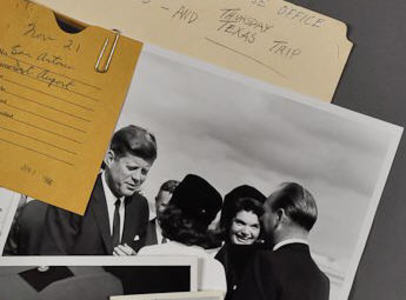 JFK & Jackie at Airport