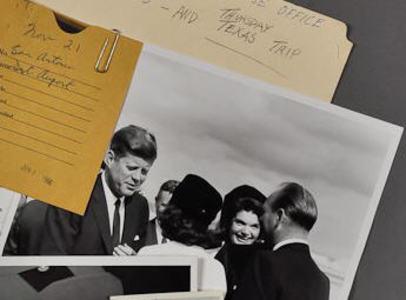JFK & Jackie at Airport