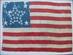 U.S. 34 Star Flag, 1863 - 1865,