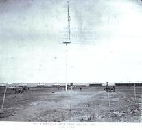 1878 Image of Flag Pole