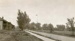 1894 Image of Flag Pole