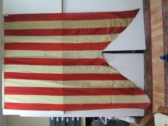 U.S. Navy Commodores Broad Pennant 1869-1876.