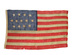 U.S. 13 stars 4-5-4 pattern Flag, Merchant Ensign.