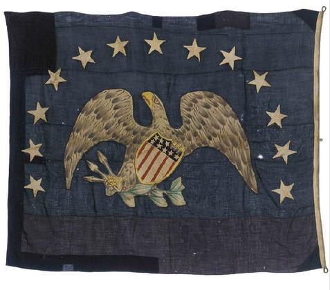 13 Star S.S. Arctic U.S. Merchant Eagle Jack.