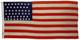 U.S. 47 Star Flag - New Mexico's Statehood.