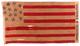 U.S. 13 Star Flag - Hancock & English.