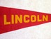 Lincoln High School Pennant