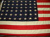 U.S. 48 Star Flag - U.S.S. Hydrus.