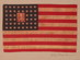 US flag, 48 star, Moral Instruction -Truthfulness