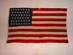 U.S. 46 Star Flag - Oklahoma's Statehood.